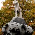 John R. Buchtel Monument